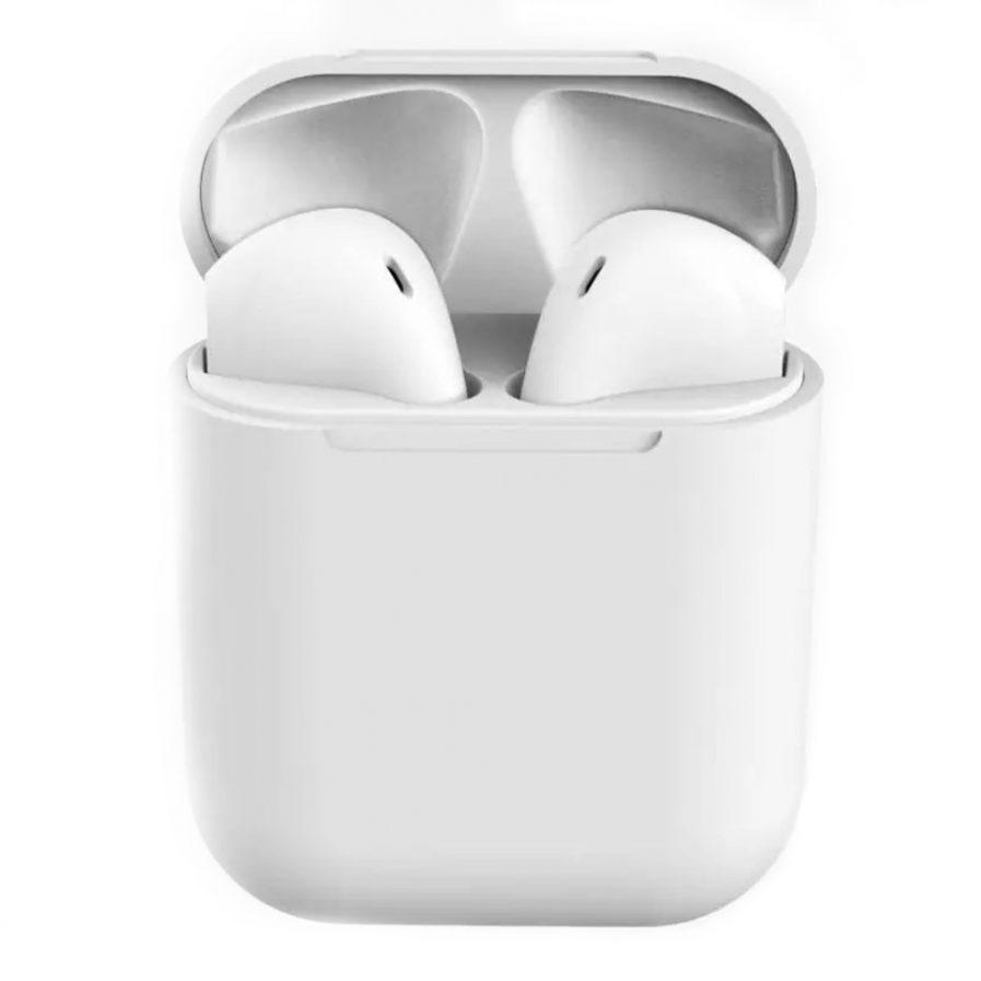 Audífonos Bluetooth Inpods 12 TWS Blanco