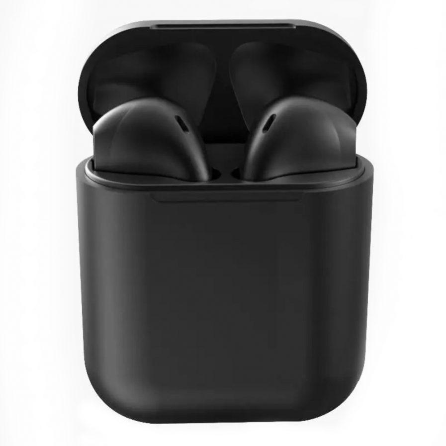 Audífonos Bluetooth Inpods 12 TWS Negro