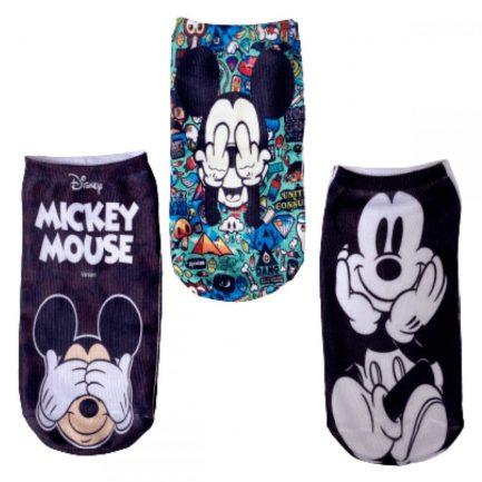 Medias Pack x 3 pares Mickey