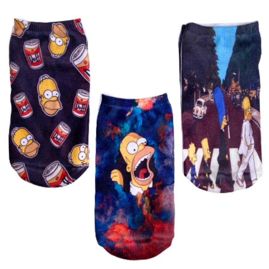 Medias Pack x 3 pares Simpsons