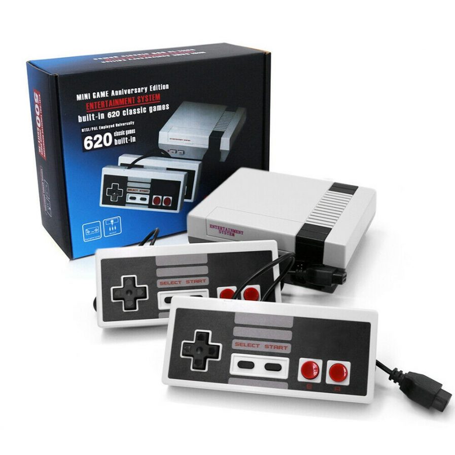 Consola Mini Nes Retro 620 Juegos