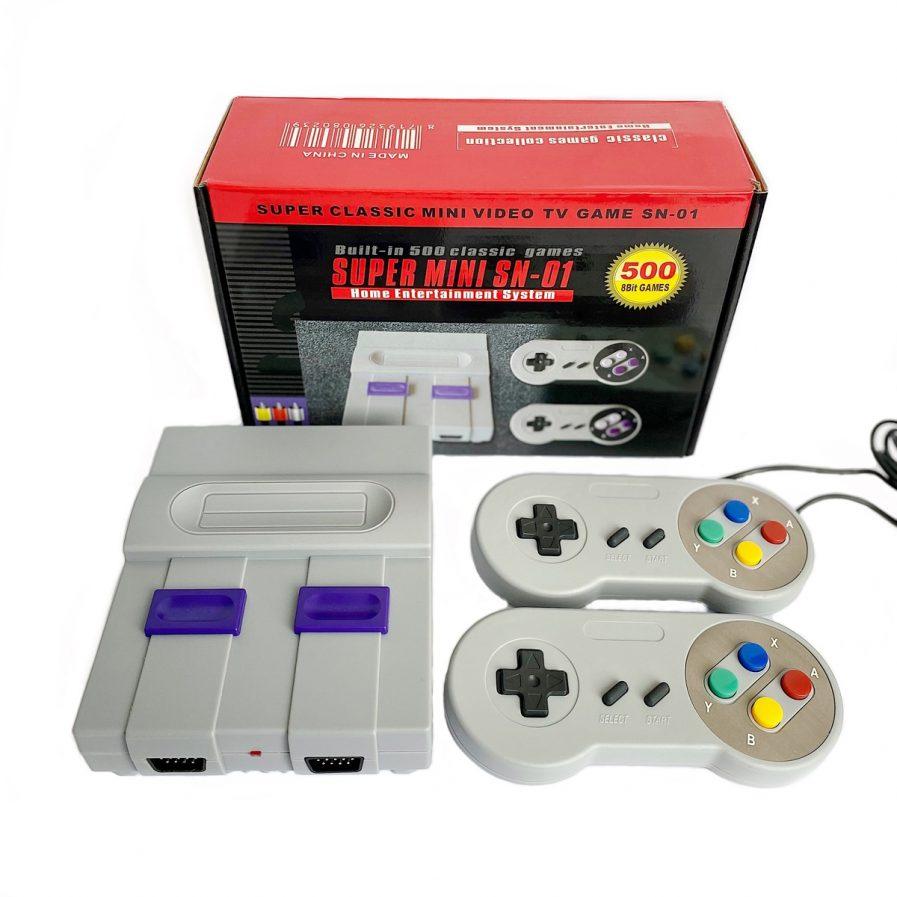 Consola Mini Nes Retro 500 Juegos