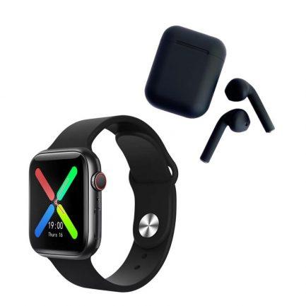 Pack Smartwatch T500 Plus Negro+Audífonos
