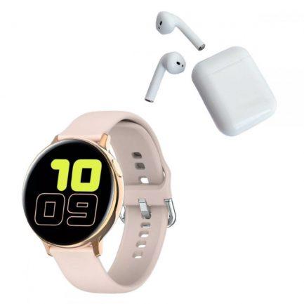 Pack Smartwatch S20 Rosado+Audífonos
