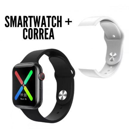 Pack Smartwatch T500 Plus Negro Mas Correas Varios Colores
