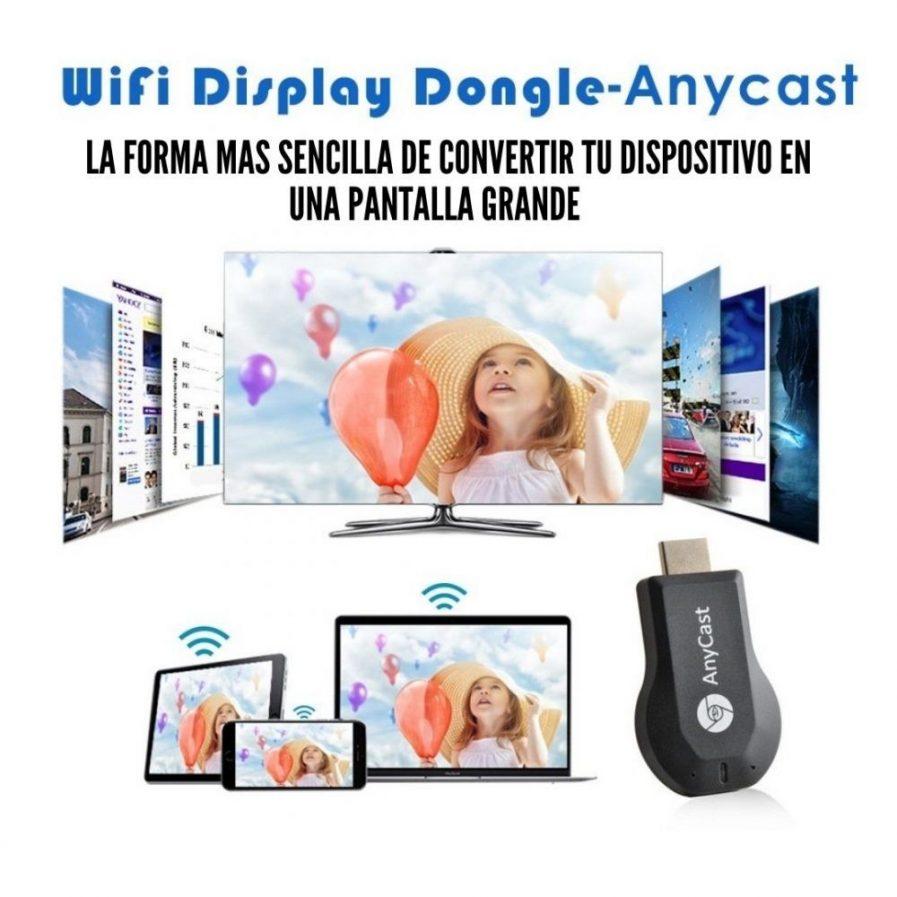 Anycast Proyección M9 Plus Inalámbrico Wifi Tv